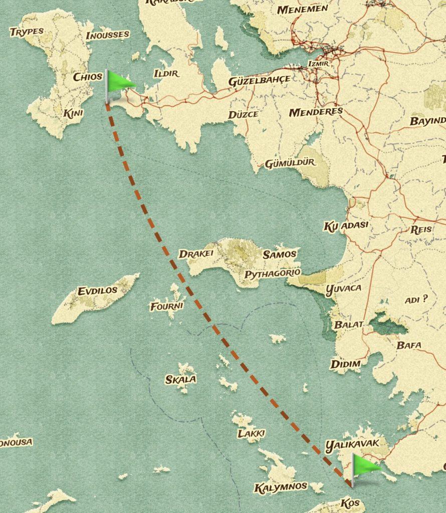 Çeşme - Bodrum rotasında açıkdeniz yelken deneyimi