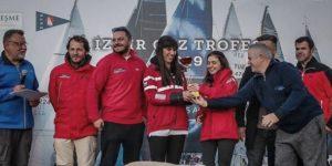 Team Linea Rossa Kürsüde